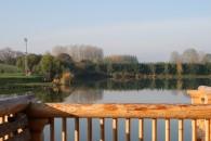 Horgász és Szabadidőpark Joó-tó Kft. - a rönkház teraszáról