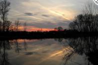 kis Blero Horgásztó - Tavaszi Naplemente a kis Bleron